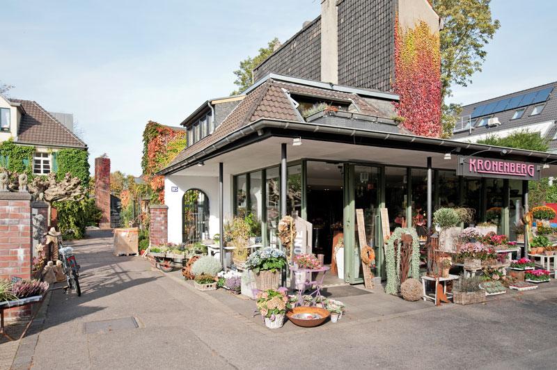 Blumen Kronenberg Krefeld - Laden in der Martinstraße