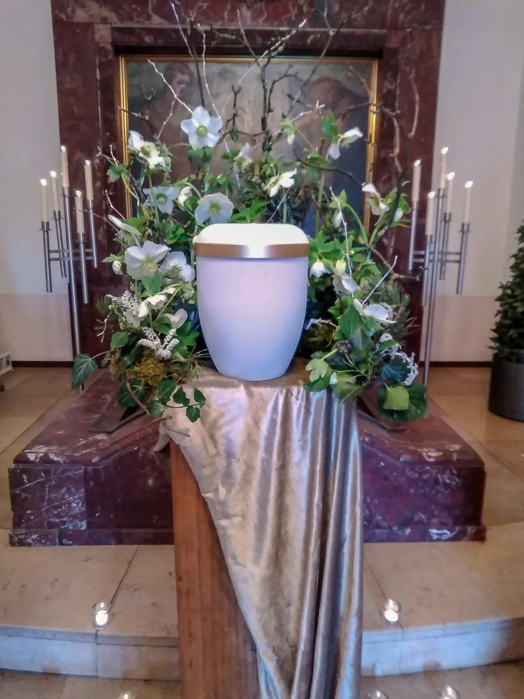 Blumen Kronenberg Krefeld - Trauerfloristik